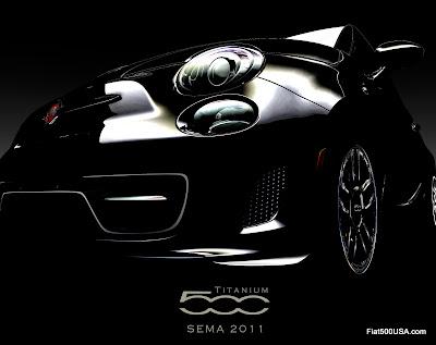 Fiat 500 Titanium show car and