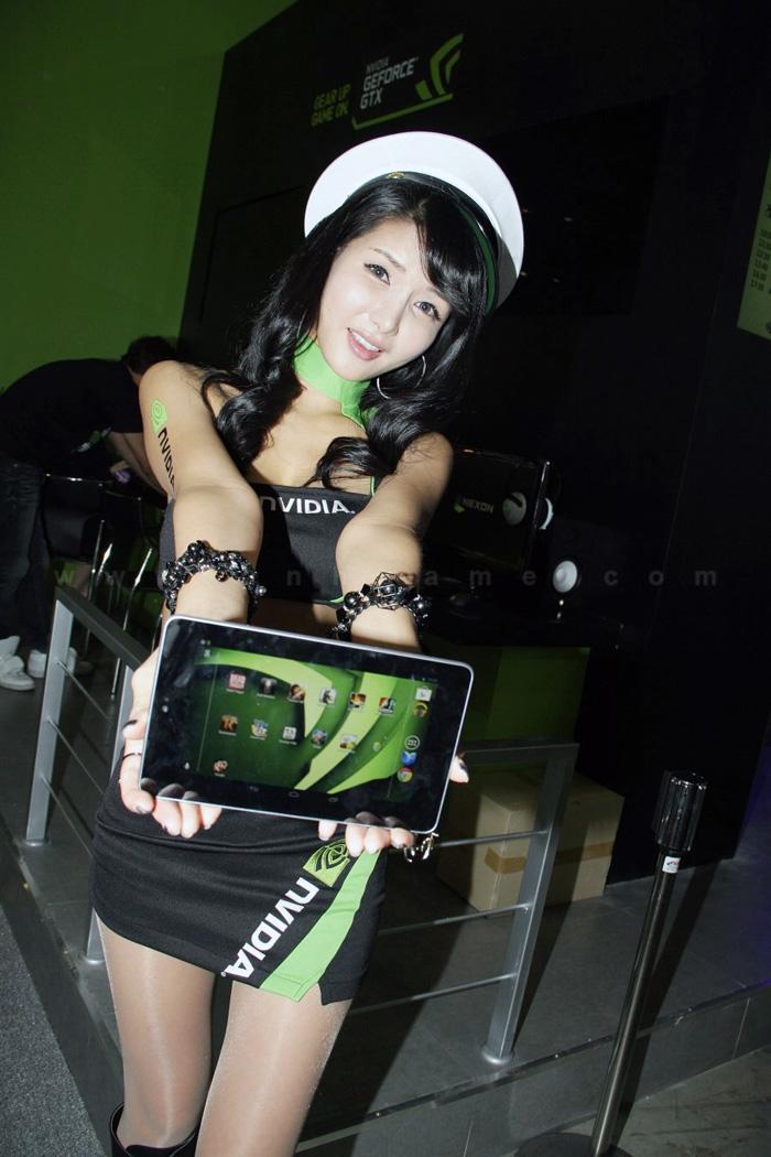 Showgirl G-star 2012: Cha Sun Hwa - Ảnh 24
