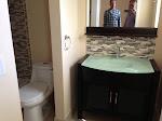 Spare room's bathroom
