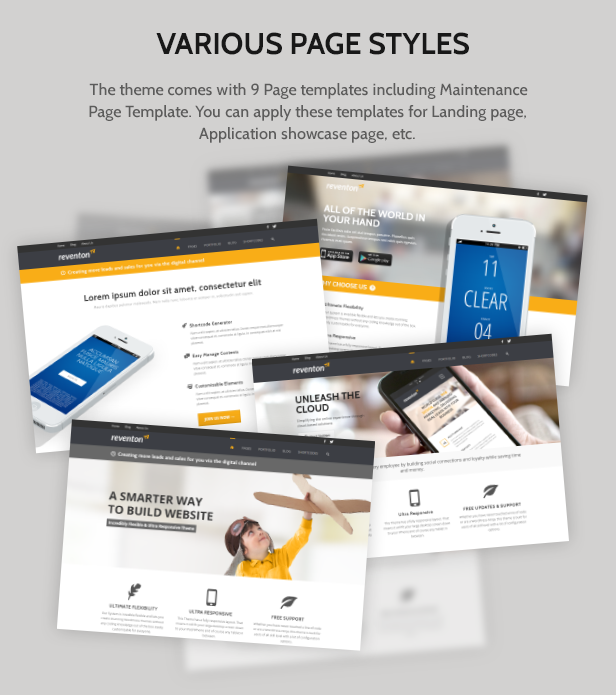 Portfolio Business Modern Wordpress Theme