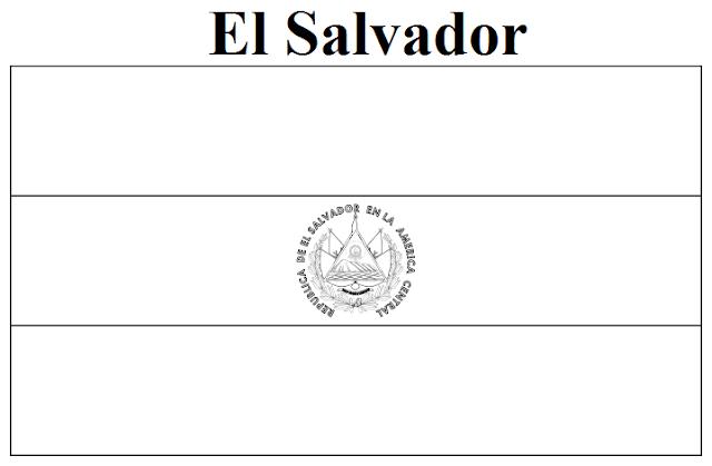 Geography blog el salvador flag coloring page Argentina Flag Coloring Page Uruguay Flag Coloring Page El Salvador Color Meaning
