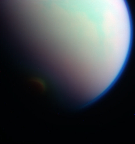 Titan Under Varying Filters