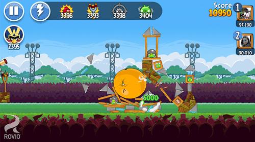 Angry Birds Friends ra mắt phiên bản di động 1