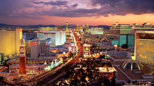Las Vegas Boulevard at Dusk, Nevada.jpg
