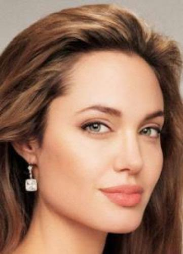 Top Fashion Model Angelina Jolie