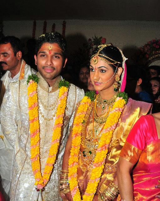 Nitin Wedding Photos Allu Arjun Wedding Photos