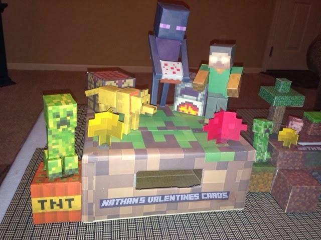 Fesselnd Minecraft Valentines Day Box