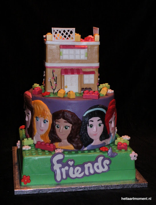 Genoeg Lego Friends stapeltaart (Pagina 1) - Bruids- en Stapeltaarten @FE75