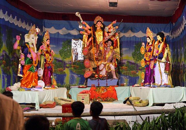 Durga Puja Festival Varanasi