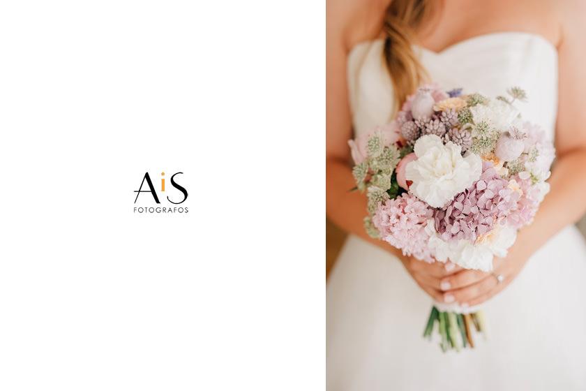 Ramos de flores de novia, Flores en el columpio