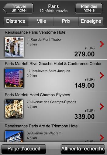 Marriott : Succès pour le M-marketing et la réservation en ligne