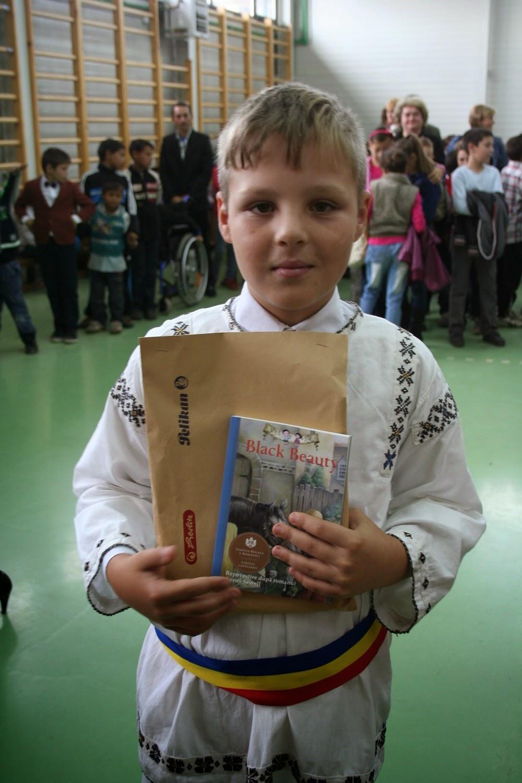 Principele Nicolae, donație de carte în județul Mureș