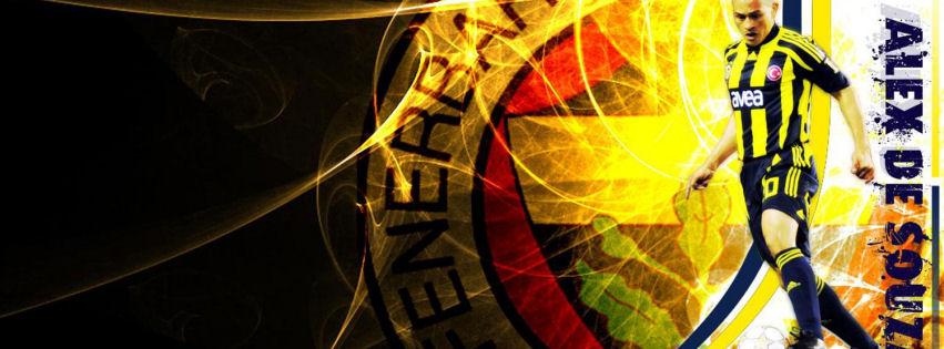 Fenerbahçe Alex De Souza facebook kapak fotoğrafı
