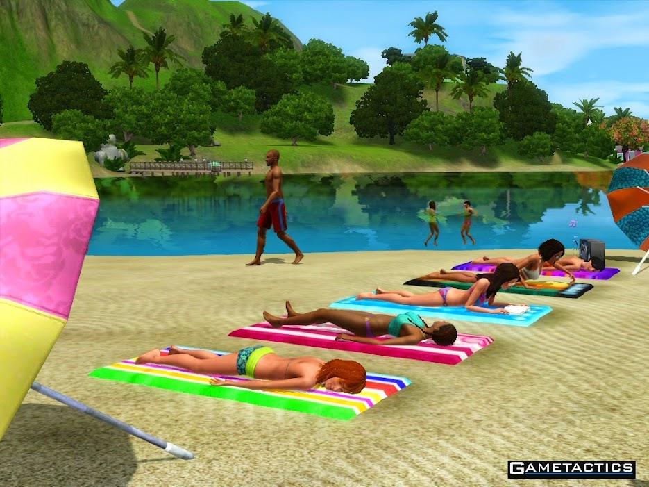 Sims al sol