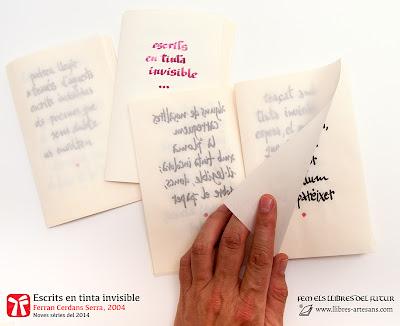 Escrits en tinta invisible, sèrie complerta 1/2014