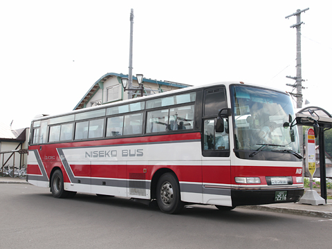 ニセコバス 五色温泉線 日野セレガFD