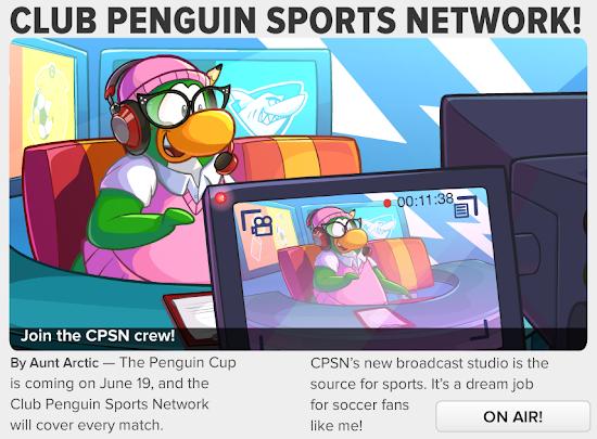 Club Penguin Times Club Penguin Sports Network!