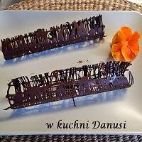 dekoracja czekoladowa
