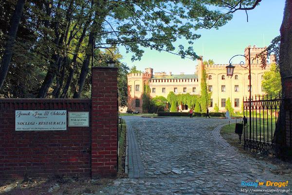 Pałac Zamek Jan III Sobieski w Rzucewie