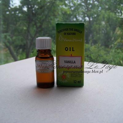 olejek zapachowy eteryczny wanilia do kominka masażu