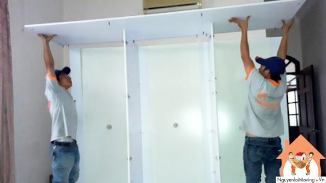 NguyenloiMoving nhận tháo lắp tủ trọn gói