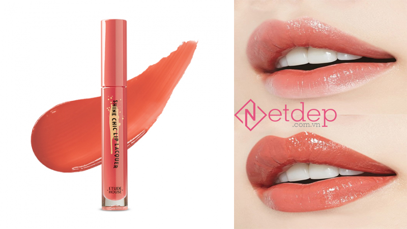 Son Etude House x Red Velvet Shine Chic Lip Lacquer BE101 Misty Silhouette