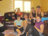 Фоторепортаж с тренинга по ньяса-йоге 12-18 февраля 2012г в Карпатах.745