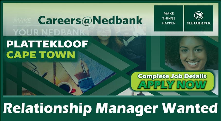 Nedbank Plattekloof Relationship Manager