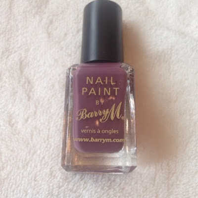 BarryM nail polish in Vintage Violet