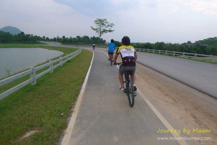 ปั่นจักรยาน_start