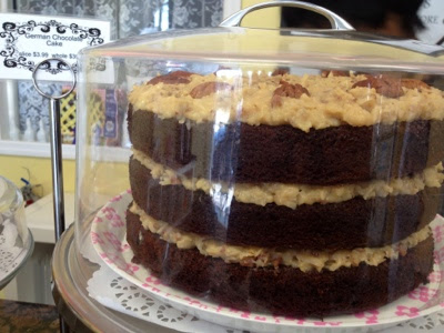 German Chocolate Cake at Sister Honey's in Orlando