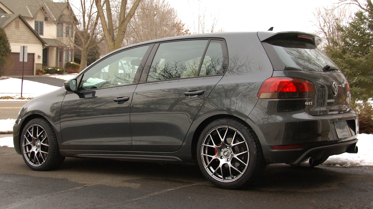 Continental Extremecontact Dw Tire Wear Fitment Vw Gti