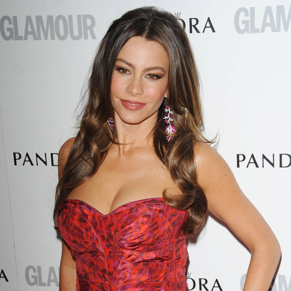 Sofia Vergara: Sofia Vergara is undoubtedly the hottest chic on small screen. Sofia is best known for her comic talent that makes her a lethal combination of beauty with talent.