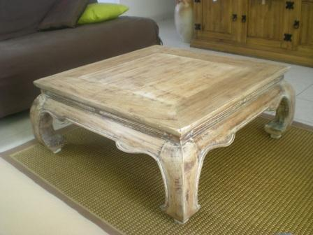 Les secrets de famille table basse opium - Relooker une table de salon ...
