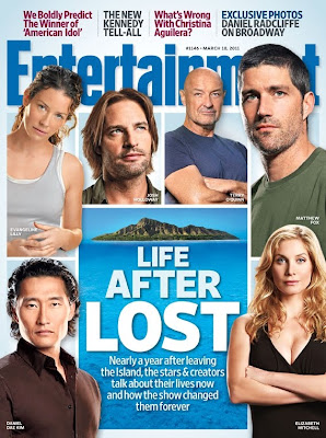"Entertainment Weekly Issue #1146 LOST Cover - March 18, 2011 - ""Life After LOST"""