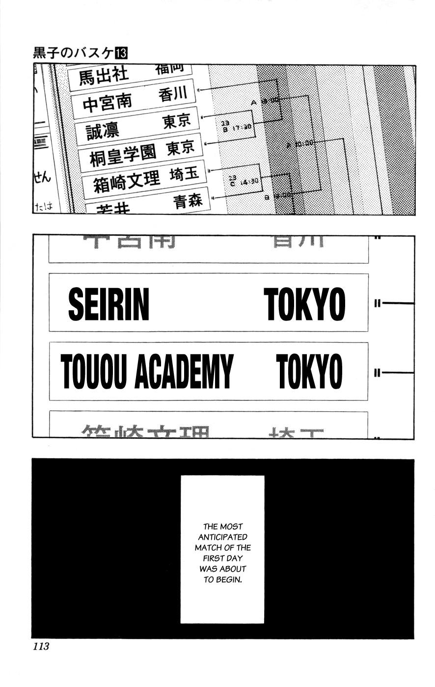 Kuroko no Basket Manga Chapter 114 - Image 07