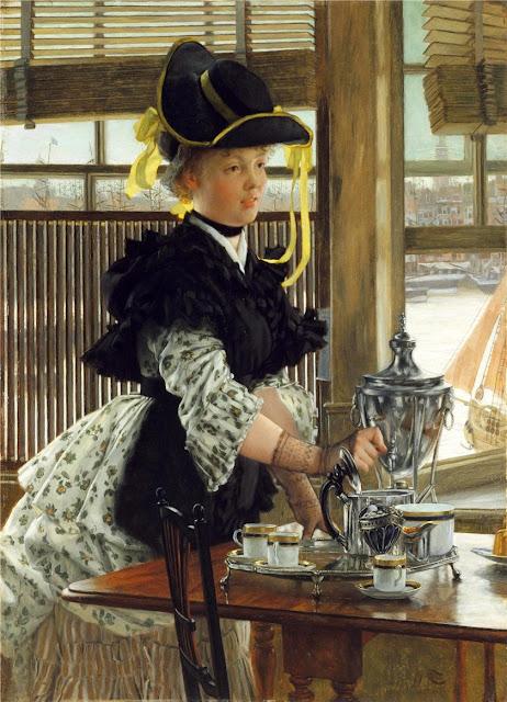 James Tissot - Tea,1872