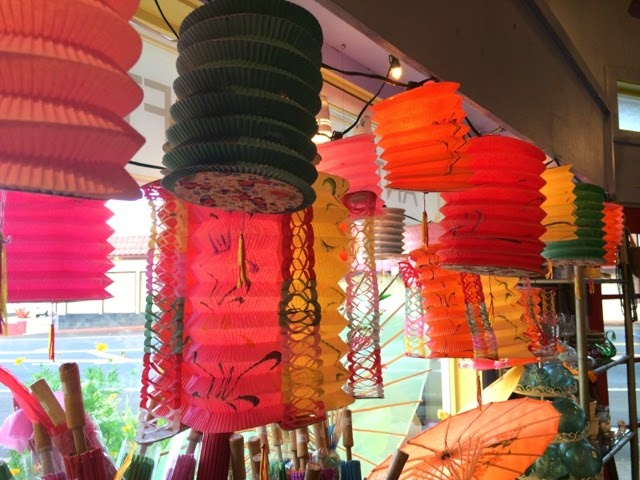 Pagoda Kauai vintage antique shop store Kapaa Hawaii chinese lanterns