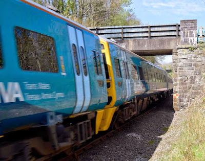 Misery for commuters as floods close railway