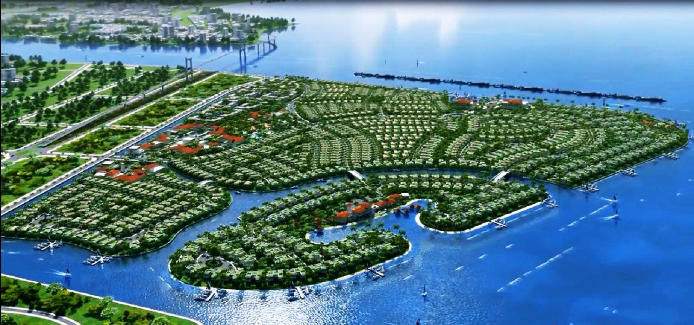 Phối cảnh khu đô thị Vịnh Thuận Phước