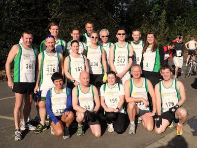 Happy Westbourne runners at a local race