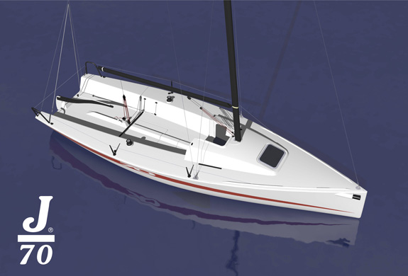 J/70 speedster- one-design trailer sailer