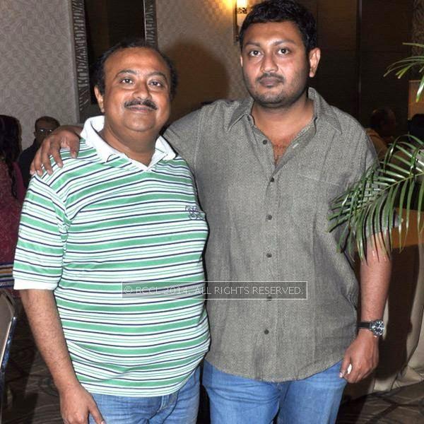 Abhijit Guha and Birsha Das Gupta during the premiere and after party of the film Maya, in Kolkata.
