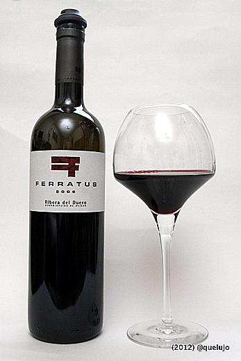 Vino tinto Ferratus 2006, Bodega Ferratus (Denominación de Origen Ribera de Duero).