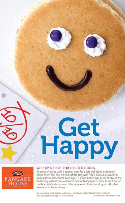 Get Happy at Pancake House