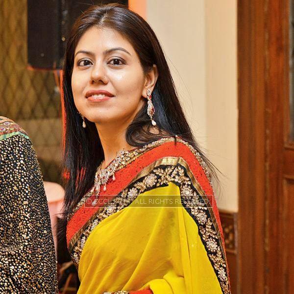 Shweta during Disha-Anuj Puri's wedding, held in Bhopal