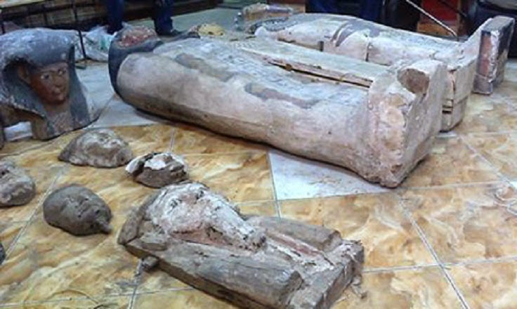 More Stuff: Egyptian police confiscate three looted mummies