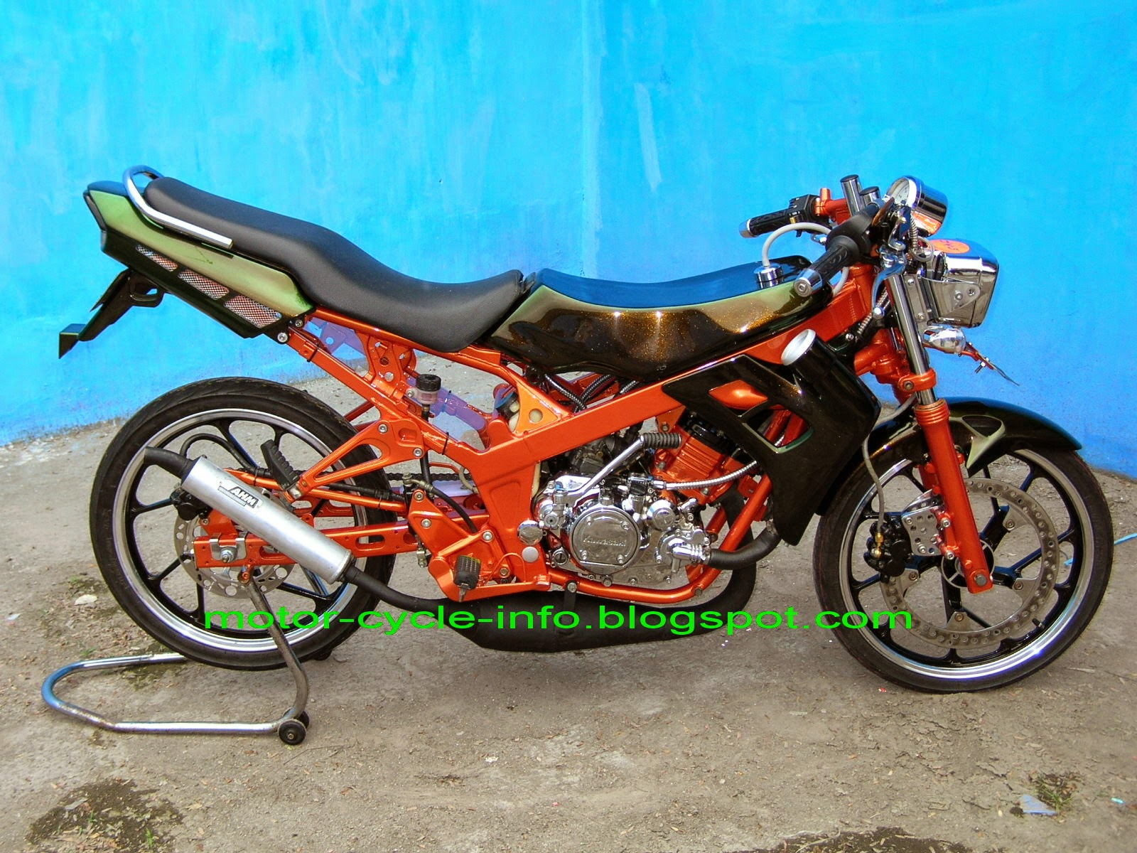 Modifikasi Drag Revo 110