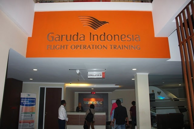 Media Trip Garuda Indonesia: Mengunjungi Garuda Indonesia Training Center
