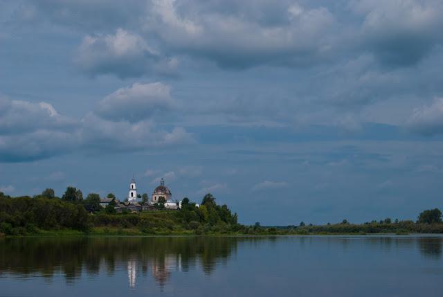 Село Васильково. Вид с реки